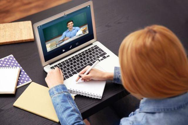 Дистанционната форма на обучение в електронна среда - голяма снимка
